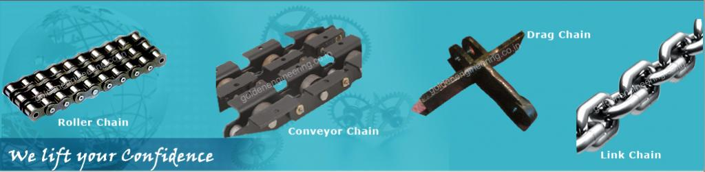Golden Engineering & Enterprises | Sheave Wheel Manufacturer | Bucket Elevator Chain Manufacturer | Crane Wheel Manufacturer | Conveyor Chain Manufacturer | Chain Sprocket Manufacturer | Conveyor Roller Manufacturer | Gear Manufacturer